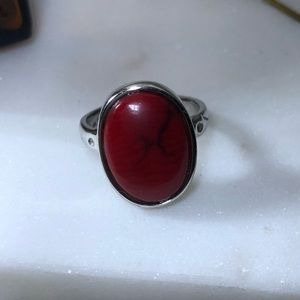 Jewelry - Genuine Red Coral Ring